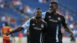 WATCH VIDEO: Brilliant David Accam scores as Chicago Fire go past Lauderdale Strikers to reach US Open semis