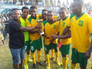 Dwarfs hammer Vipers 3-0 to win Central Regional President's Cup