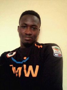 SAD: Young Liberty goalie Isaka Mohammed dies in a football match after clash with opponent striker