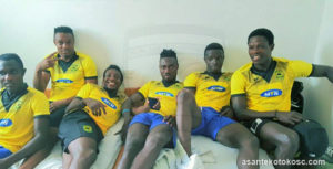 Kotoko players ready for Inter Allies test on Saturday