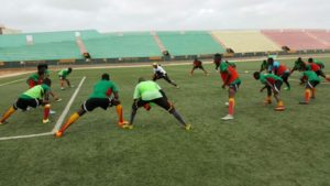 Black Satellites step up preparations ahead of tomorrow's AYC qualifier against Senegal