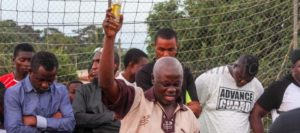 Special Prayer Section Held by Dreams FC