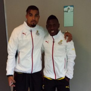 Ghana striker Majeed Waris sends good will message to Kevin-Prince Boateng after Las Palmas move