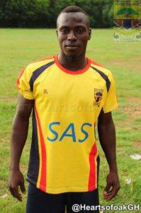 In-form Hearts player Patrick Razak expects a tough challenge from WAFA