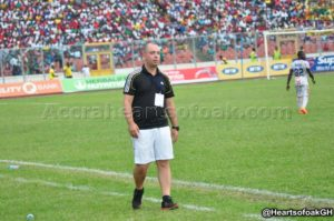 Hearts coach Sergio Traguil not perturbed by calls for his exit