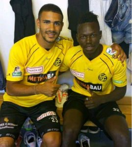 Wa All Stars hitman Richard Arthur undergoes trial with Swiss 2nd tier side FC Schaffhausen