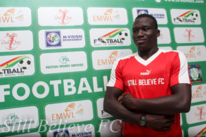 Dreams FC young striker Abdul Manan takes inspiration from Everton's Romelu Lukaku