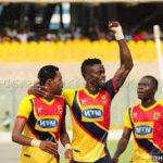 Hearts striker Cosmos Dauda urges team to forget WAFA thrashing and focus on Techiman City