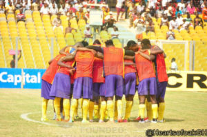 VIDEO: Hearts of Oak intensify training with prayers ahead of Wa All stars duel