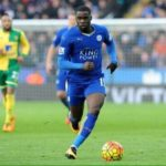 Jeffery Schlupp and Daniel Amartey played in Leicester City 2-4 loss to Barcelona