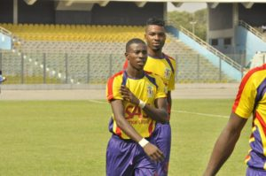 Accra Hearts of Oak Thomas Abbey says they will continue to push for League title