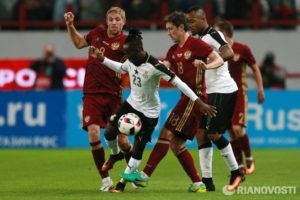 Photos: Russia beat Ghana 1-0 in an international friendly