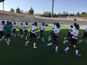 Black Maidens step up preparations for World Cup opener