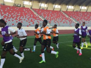 Coach Adotey maintains Black Maidens team for USA match