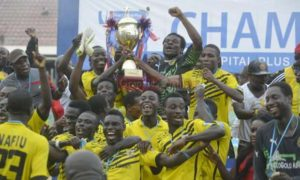 Our target next season is Top 4: AshGold CEO