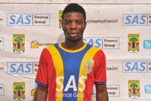 Hearts winger Ollennu Ashitey edges closer to Kotoko move