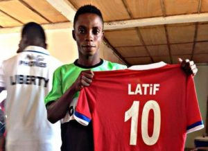 Latif Blessing is hot; A player agent threatens to take legal action against him