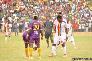 GHALCA G6: Hearts draw 1-1 with Medeama SC