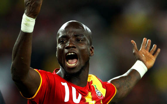 Mohammed Gargo feigned injury for me to make my debut- Stephen Appiah