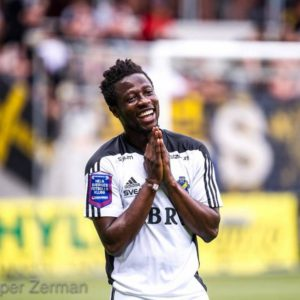 West Ham United set sights on Ghana's Ebenezer Ofori