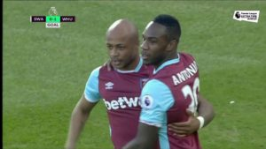 VIDEO: Watch Andre Ayew's debut Premier League goal
