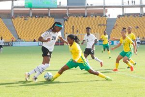 Watch Photos of how the Black Queens clinched bronze at the AWC in Cameroon