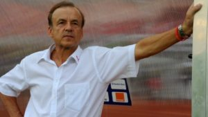 Nigeria are not number one in Africa, says Gernot Rohr