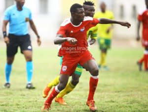 My debut goal is going to propel me to do great things – Samuel Konney