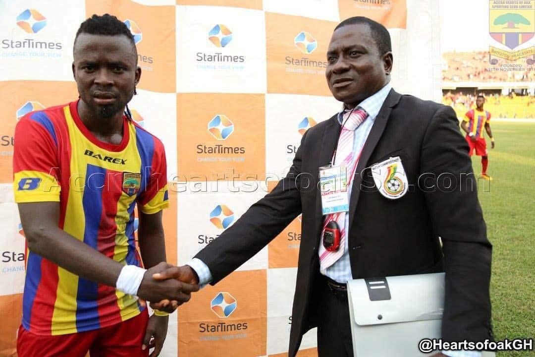 Hearts of Oak's Malik Akowuah named Man-of-the-match against Kotoko