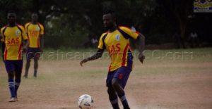 Key Hearts duo Akowuah and Musah return to training