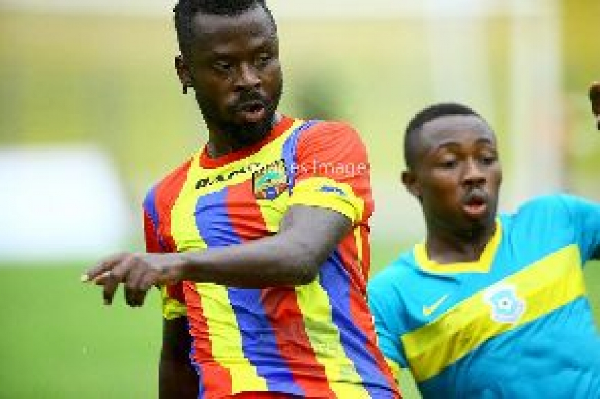 Hearts midfielder Malik Akowuah implores teammates to show grit Sunday's Super clash