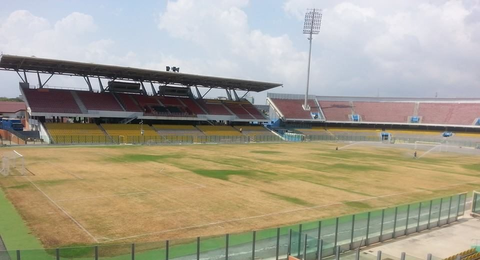 Accra Sports Stadium in ruins, now a death trap