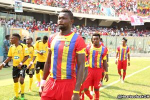 Vincent Atinga showed leadership in Kotoko win-Hearts' coach Frank Nuttall