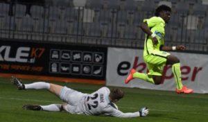 Ghana's Courage Pekuson adjudged Player of the Week in Slovenia