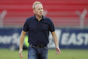 Hearts will be without Coach Nuttal for Ghana at 60 Match