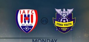 Inter Allies, Tema Youth to complete Week 8 games today