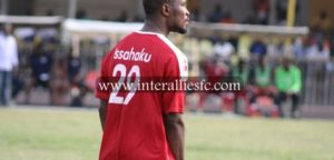 Inter Allies name defender Issahaku Zakari as player of the week