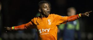 Latif Blessing wants to score more after debut goal for  Swope Park Rangers