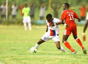 In form Liberty striker Bernard Arthur wants to score more goals for the side