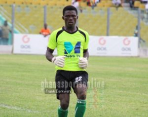 'I wish to become like Richard Kingston' - Olympics young goalkeeper Ebenezer Odonkor
