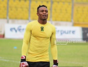 Asante Kotoko confirms goalie Ernest Sowah will be out for 7 days with ankle injury