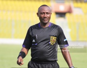 GFA kick against sanctioning referee Samuel Sukah after controversial penalty call
