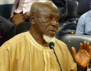 King Faisal president Alhaji Grunsah urges Kotoko fans to quit chastising referee Samuel Sukah