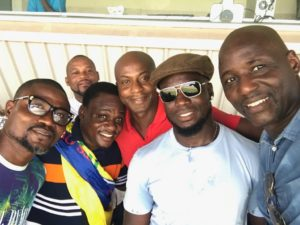 Tony Baffoe joins former Hearts legends Stephen Appiah and Laryea Kingston at Super Clash
