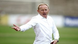 Hearts coach Frank Nuttall satisfied with officiating in Super clash win over Asante Kotoko
