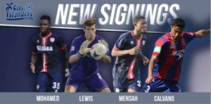 Two Inter Allies players, Ropapa and Abass join Harrisburg City Islanders