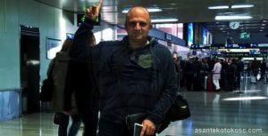Kotoko Coach Logarusic returns from Croatia