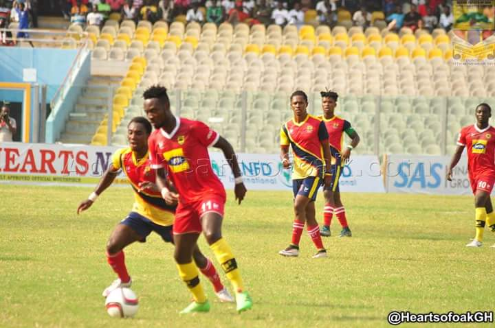 Kotoko deputy skipper Eric Donkor worried about their current poor form