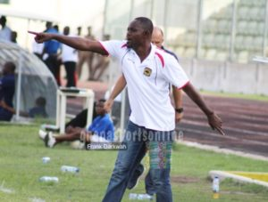 Kotoko coach Godwin Ablordey expresses worry over poor officiating in Premier League