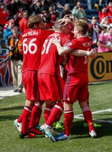 Video: David Accam assists Bastian Schweinsteiger debut goal for Chicago Fire